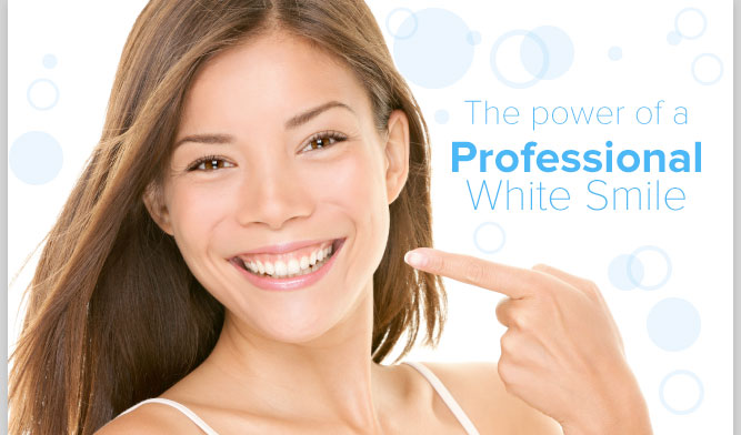 The power of a Professional White Smile